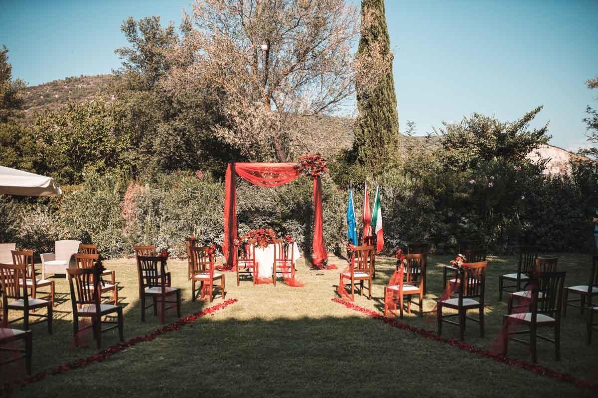 Weddintuscany Villa Passerini Matrimonio Red Passion