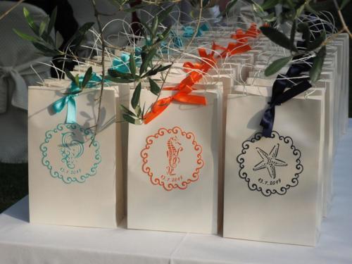 Wedding Bags come benvenuto agli invitati