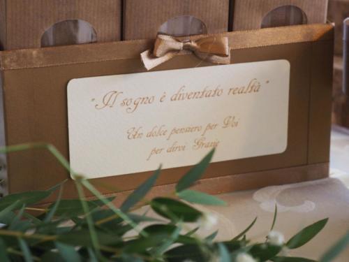 Stationery con dedica personalizzata handmade