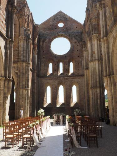 Abbazia di San Galgano la navata